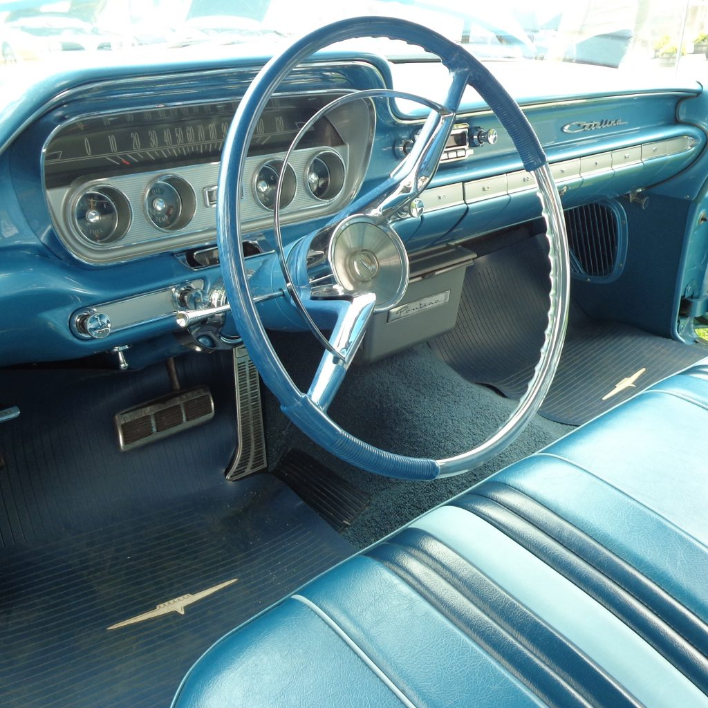 Cars Of The Month Yankee Poci 1964 Gto Wiring Harness Radio Inside Is A Beautiful Blue Tri One Interior