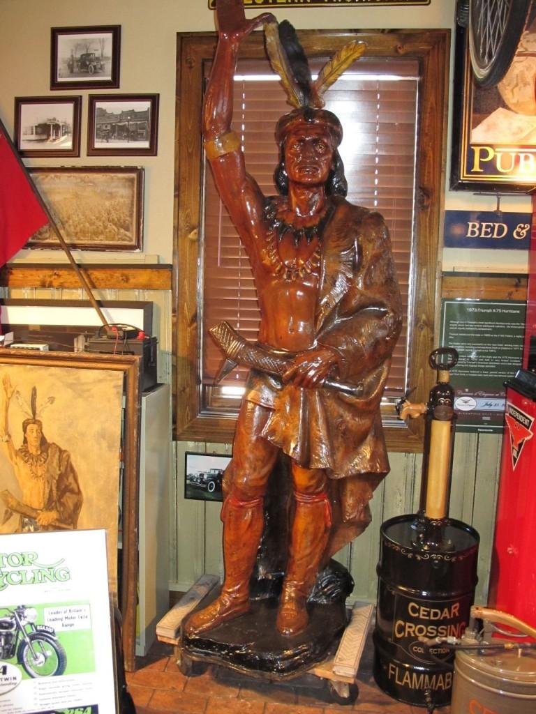 Pontiac Statue